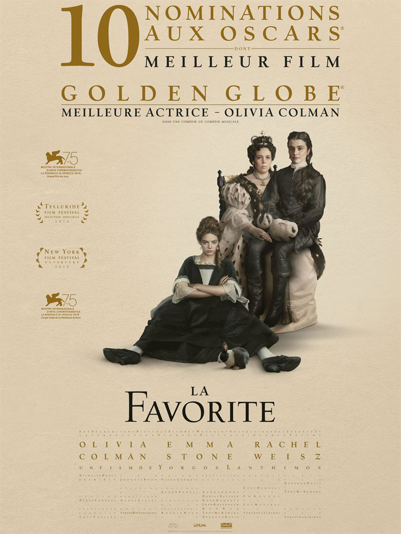 Affiche film La favorite