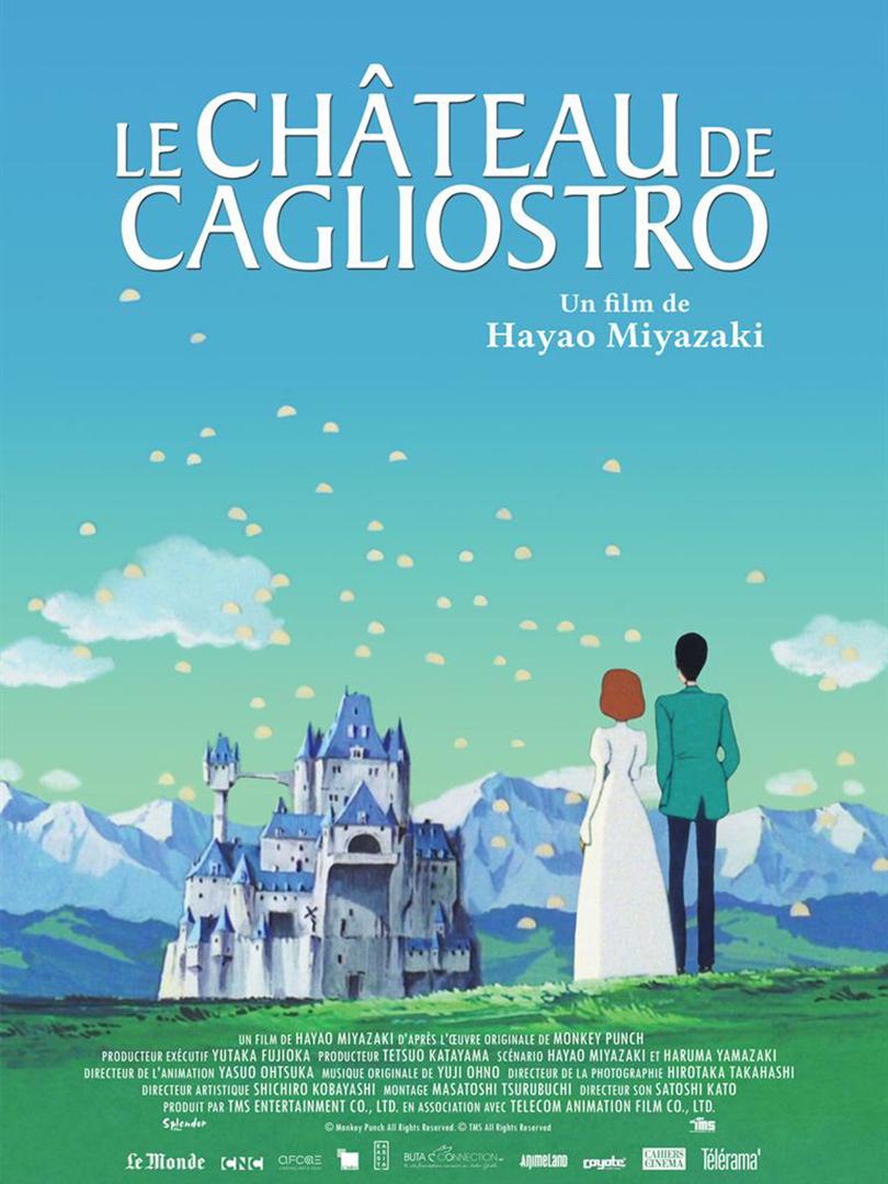 Affiche film Le château de Cagliostro
