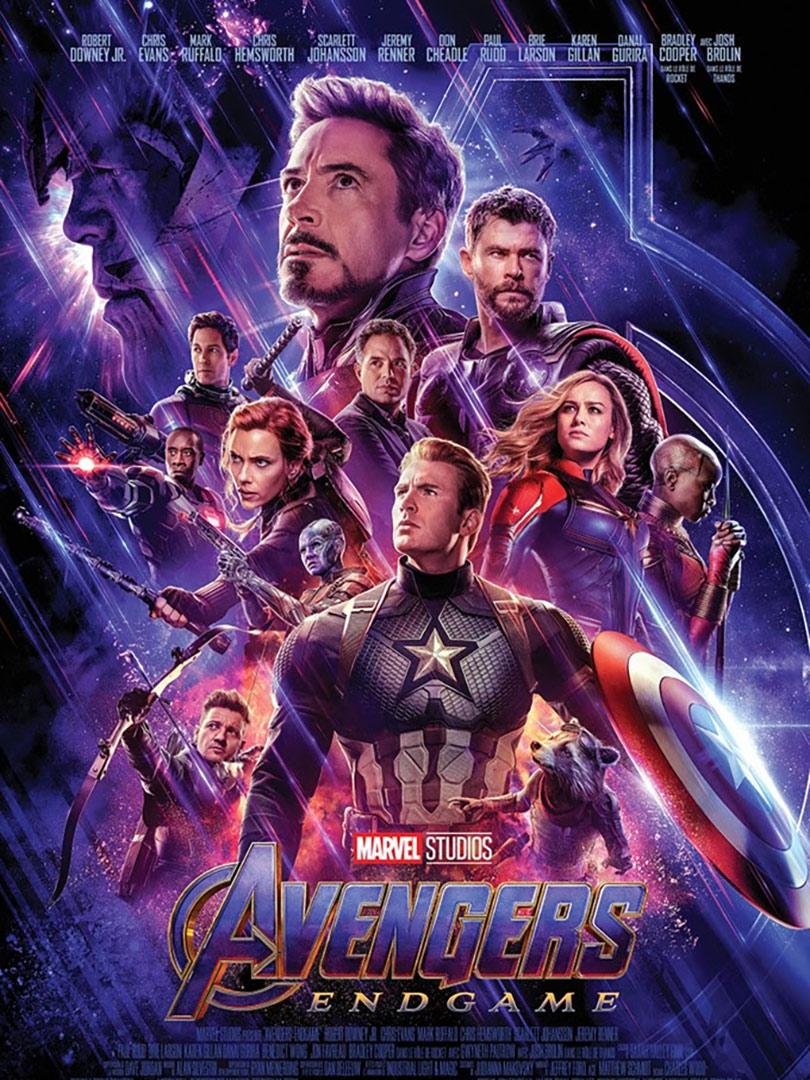 Affiche du film Avengers, endgame
