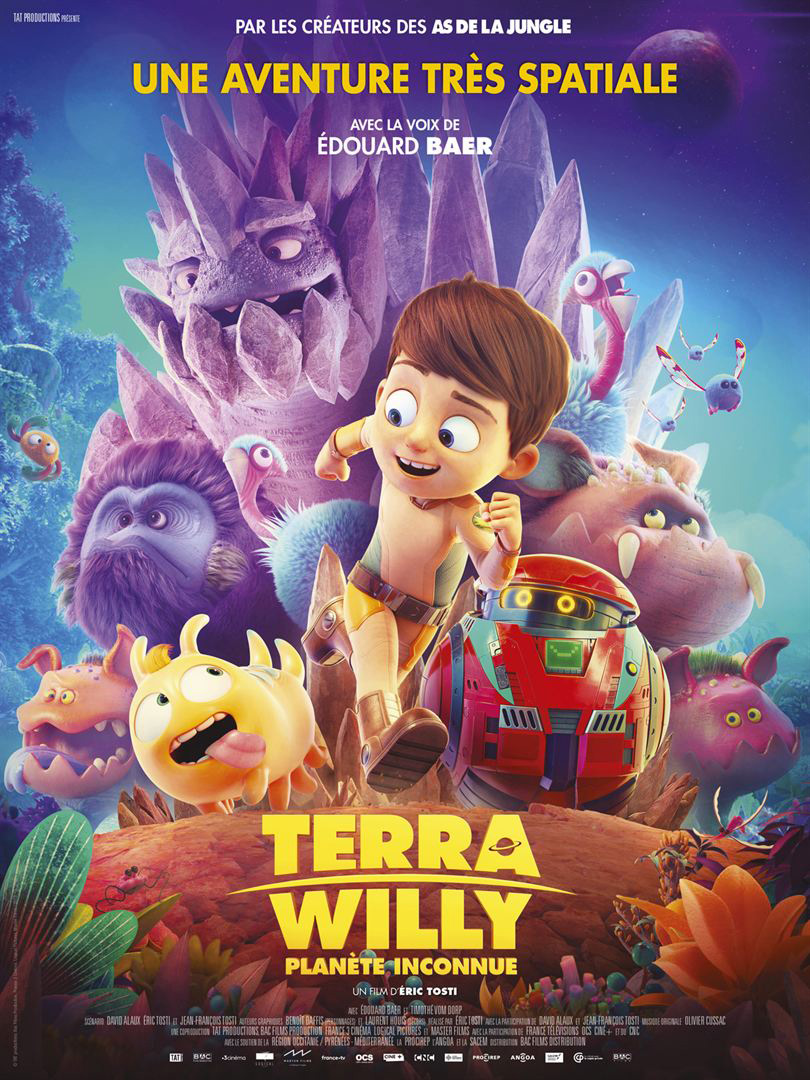 Affiche du film Terra Willy