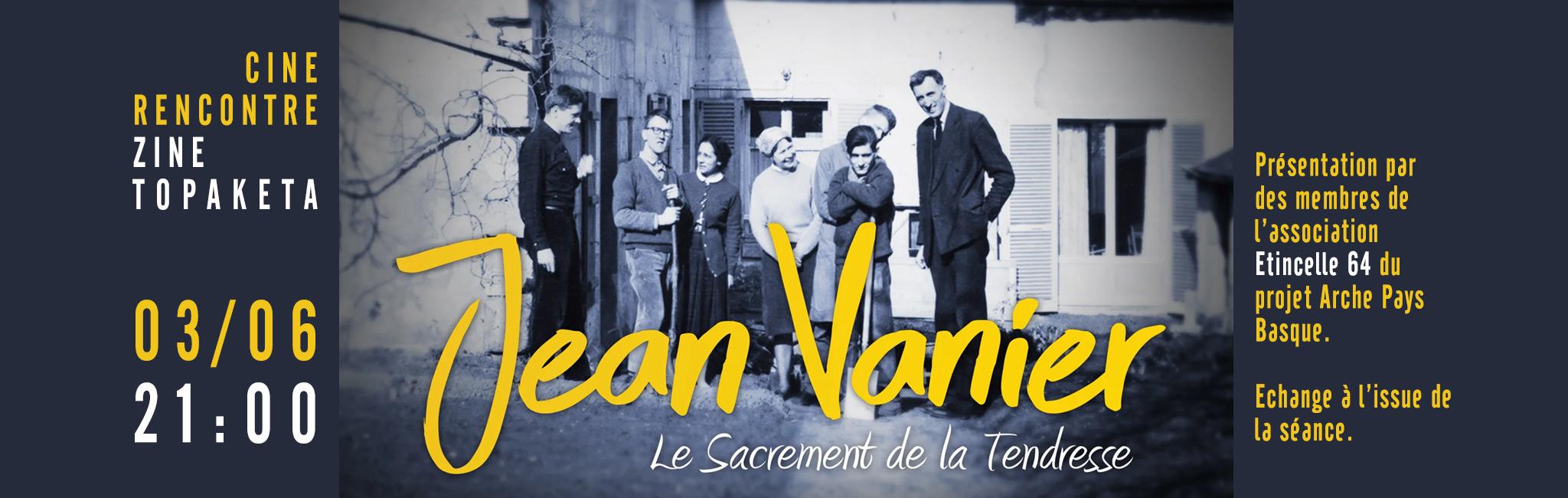 Bandeau rencontre Jean Vanier