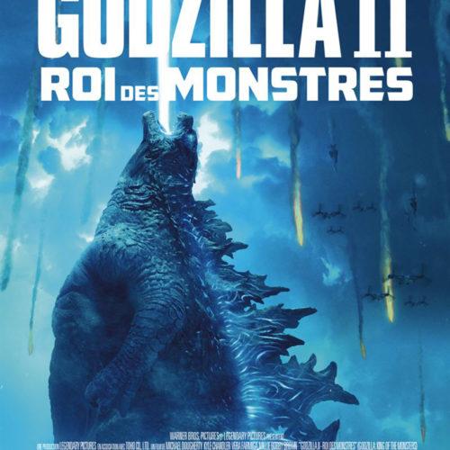 Affiche du film Godzilla 2 roi des monstres