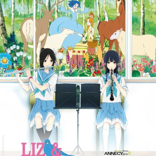 Affiche du film Liz et l'oiseau bleu