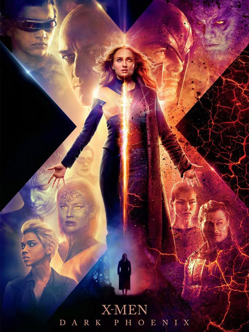 Affiche du film X-Men Dark Phoenix