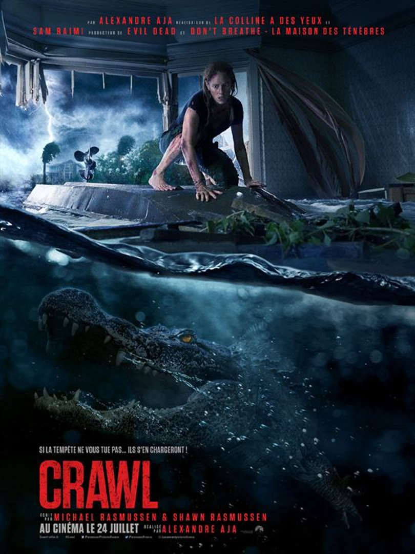 affiche du film crawl