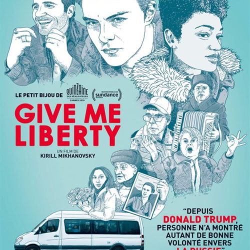 affiche du film give me liberty