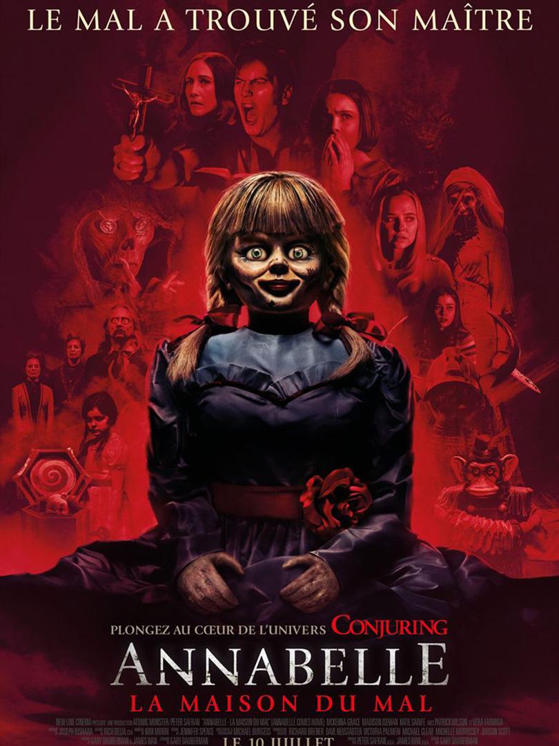 Affiche du film Annabelle 3