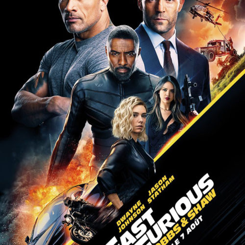 Affiche du film Fast & Furious Hobbs & Shaw