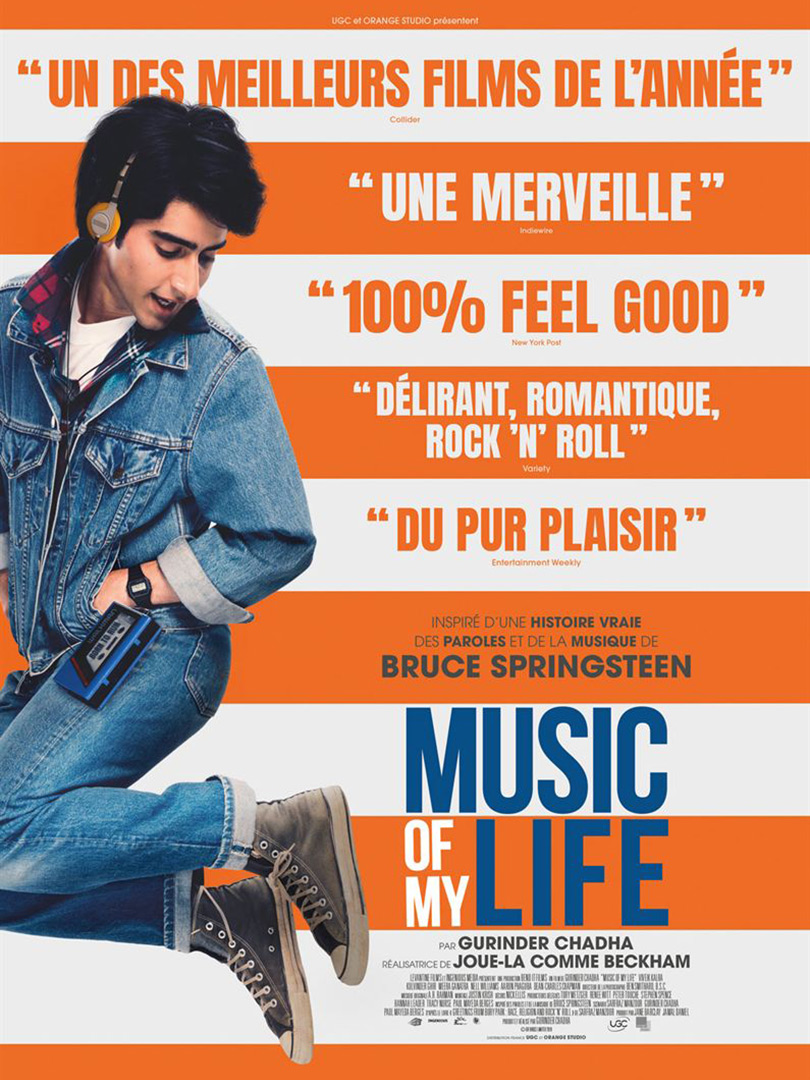 Affiche du film Music of my life