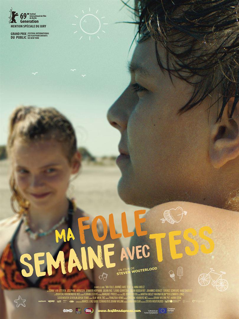 Affiche du film Ma folle semaine avec Tess