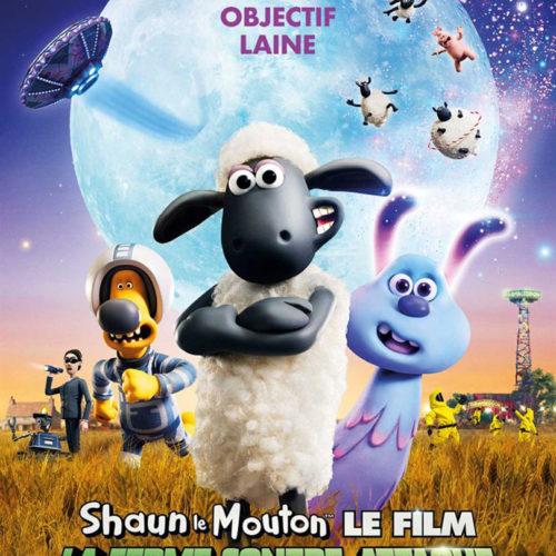 Affiche du film Shaun le Mouton La Ferme Contre-attaque