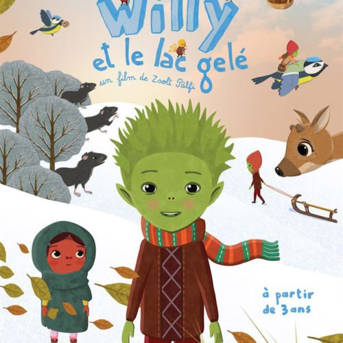 Affiche du film Willy et le lac gelé