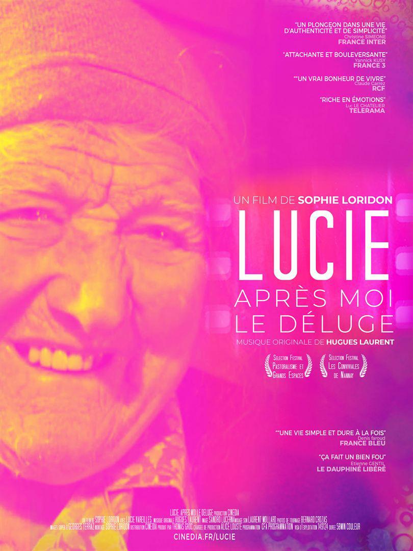 Affiche du film Lucie, après moi le déluge