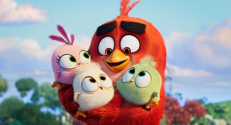 Photo du film Angry birds, copains comme cochons