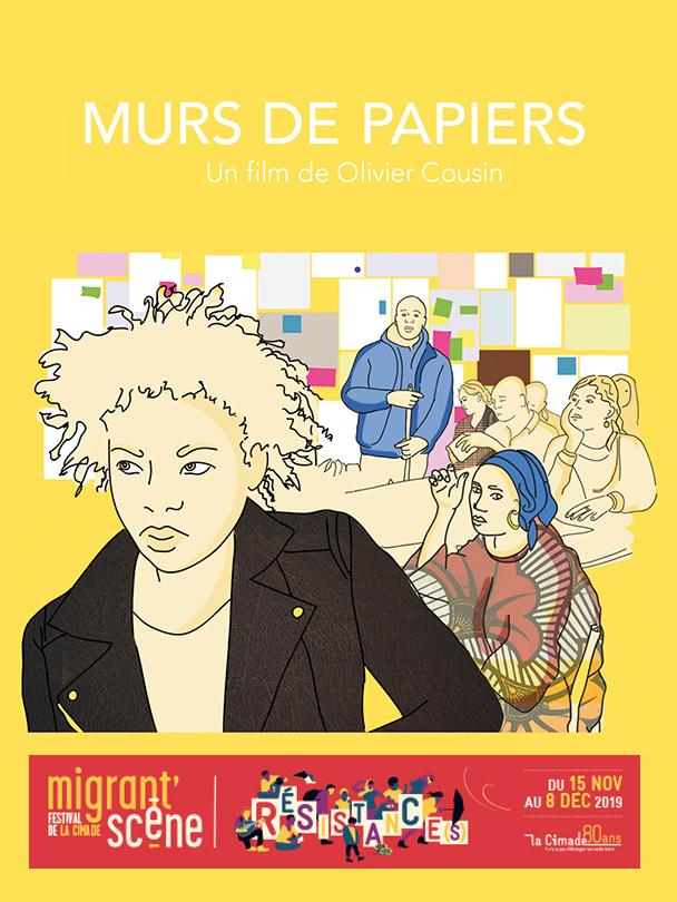 Affiche du film Murs de papiers