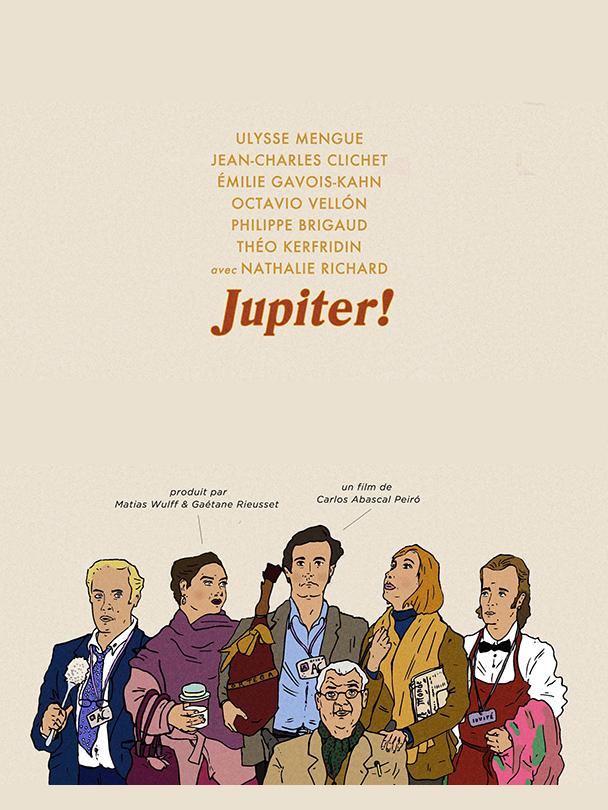 Affiche du court-métrage Jupiter