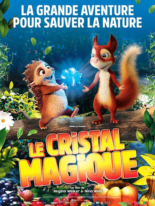 Affiche du film Le cristal magique
