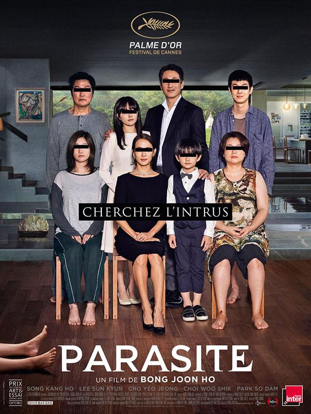 Affiche du film Parasite