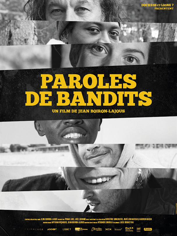 Affiche du film Paroles de bandits