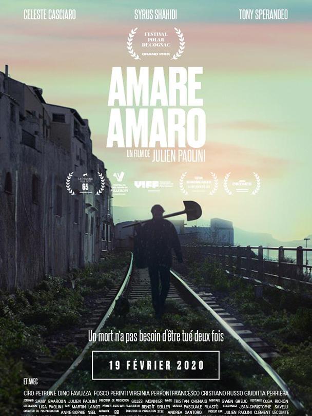 Affiche du film Amare Amaro
