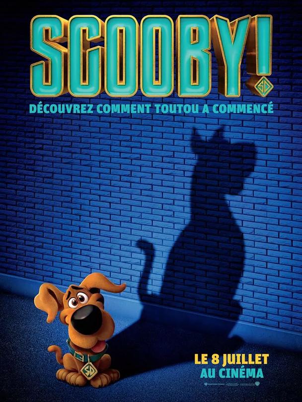 Affiche du film Scooby