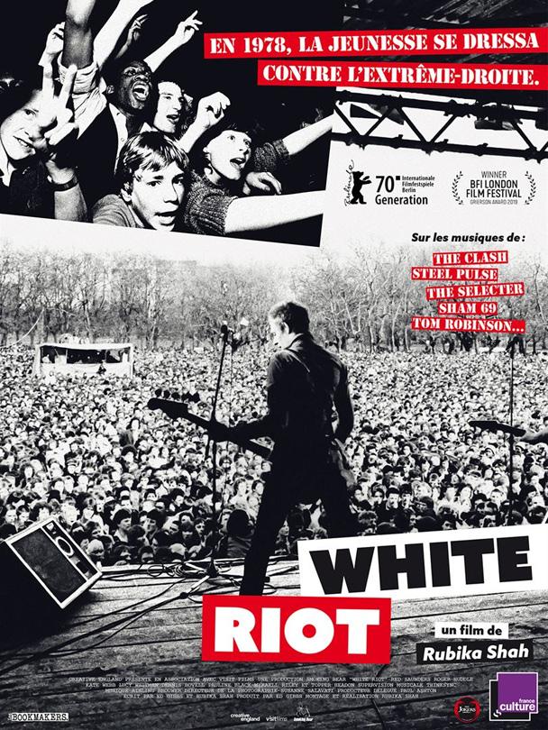 Affiche du documentaire White riot