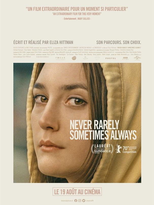Affiche du film Never, rarely, sometimes, always