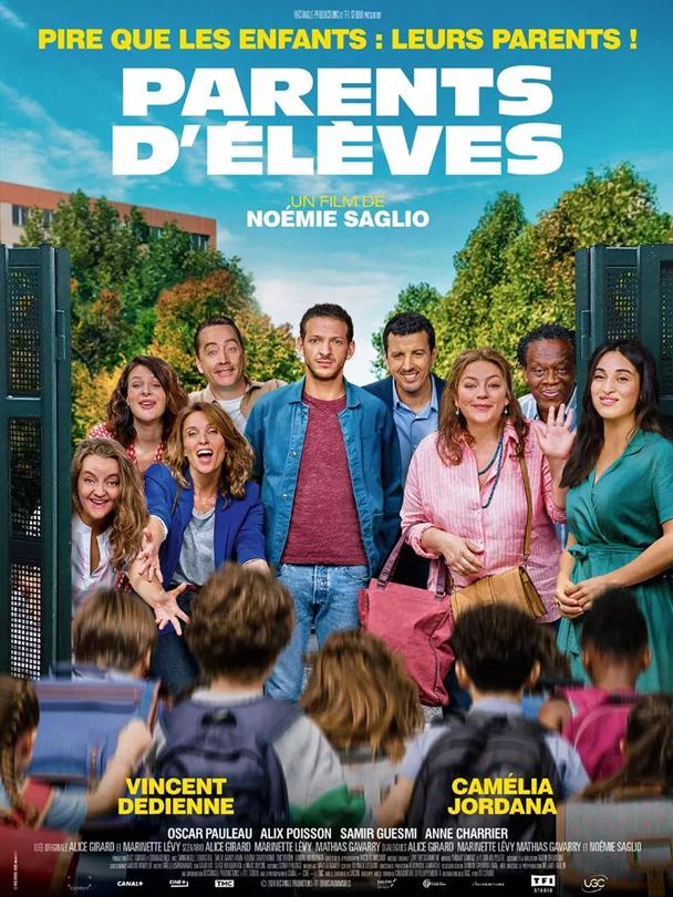 Affiche du film Parents d'élèves