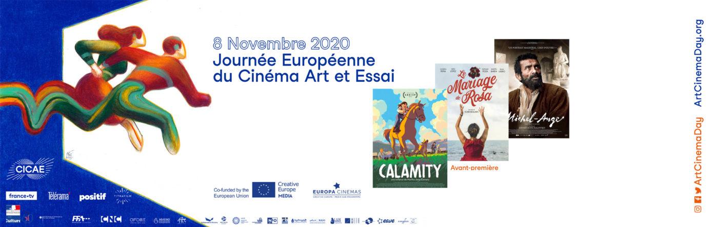 Bandeau journée européenne du cinéma art et essai