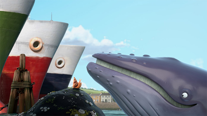 Photo du film La baleine et l'escargote