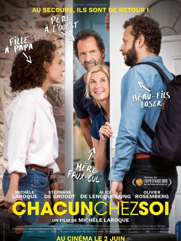 Affiche du film Chacun chez soi