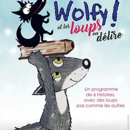 Affiche du film Wolfy et les loups en délire