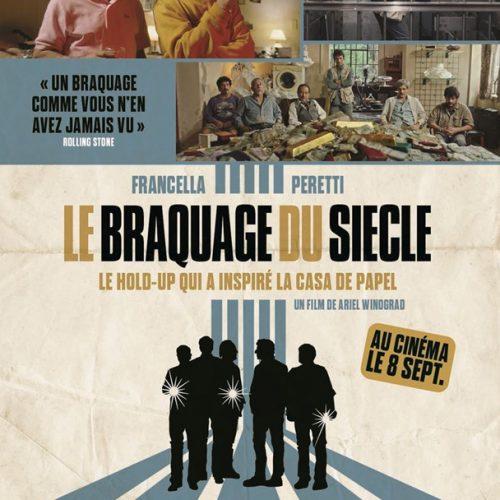 Affiche du film Le braquage du siècle
